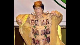 معمر القذافي هل هو المجنون ام نحن المجانين   رأيكم