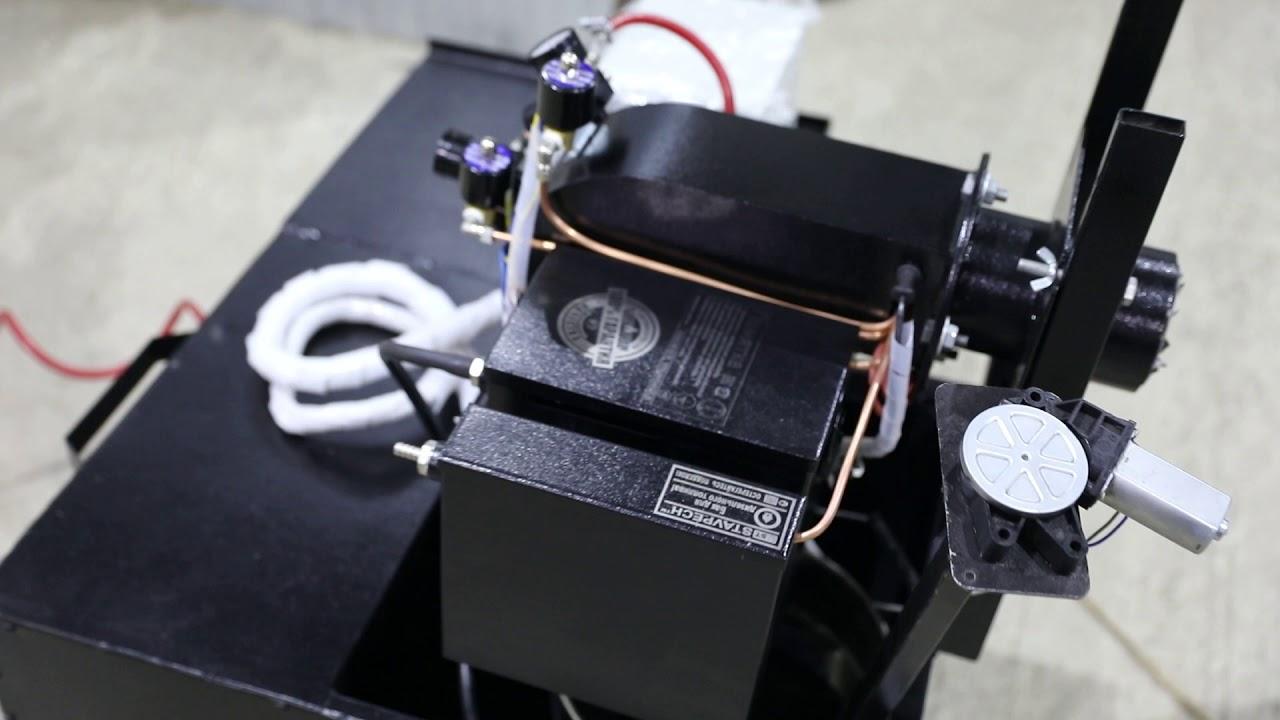 Горелка на отработке Ставпечь ГНОМ-Био 20 кВт