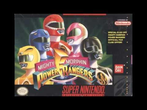 Power Rangers SNES