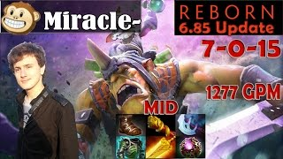 Miracle - Alchemist MID Pro Gameplay | 1200+ GPM | Dota 2 MMR