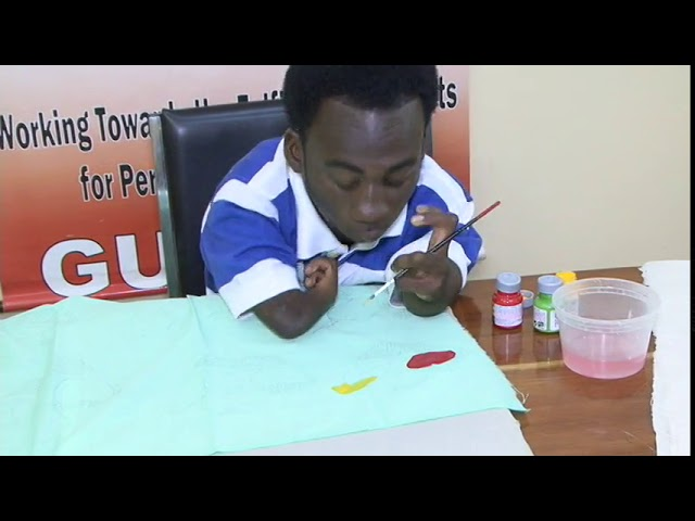 Fabric Painting Skill - Person with a Physical Disability