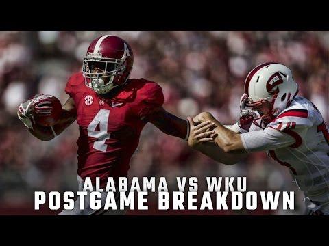 Postgame Report: Alabama vs. Western Kentucky