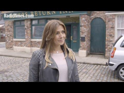 Coronation Street spoilers: Kym Marsh on Michelle's stalker hell - and Carla's return