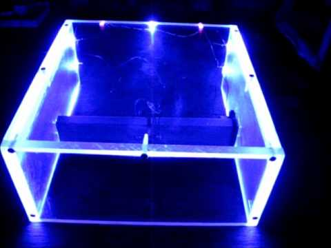 diy variable power supply with acrylic case and led lighting youtube