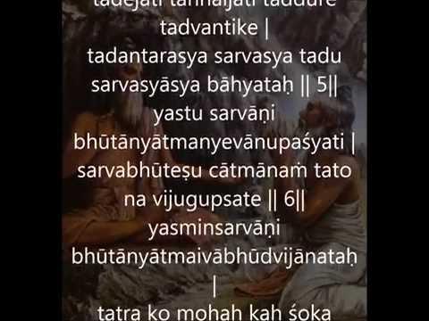 isha upanishad - chant