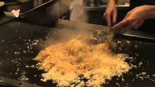 Victor Hibachi Intro - Part 8 Fried Rice Tricks