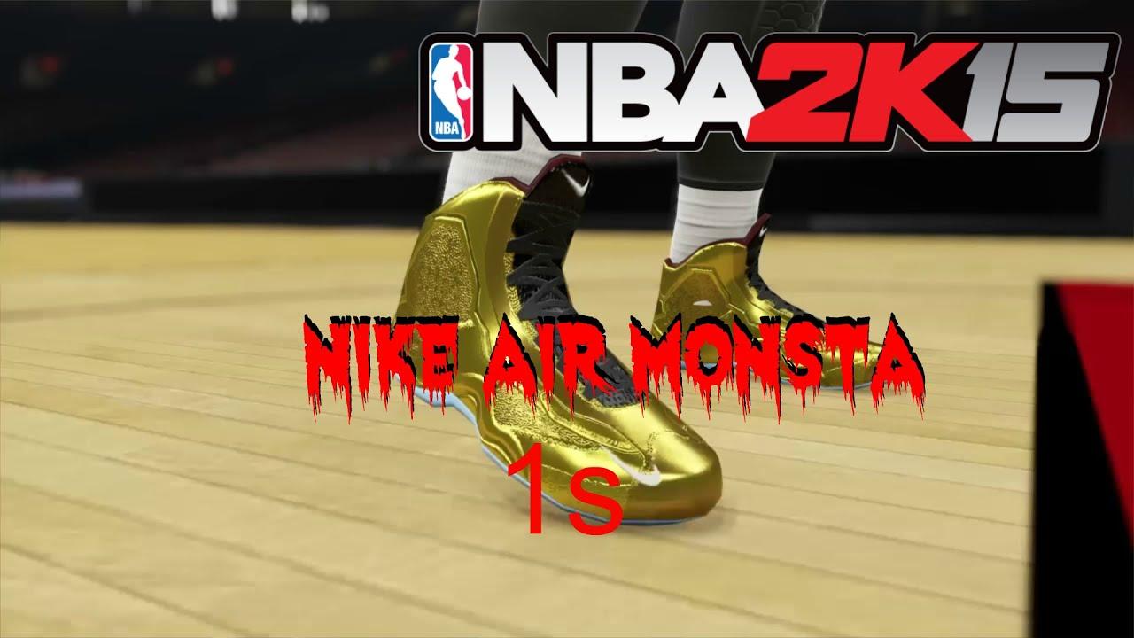 My Signature Shoe Commercial- Nike Air Monsta 1s- Nba2k15