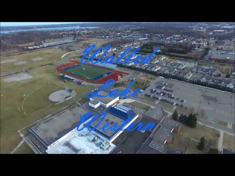 Walled Lake Western High School Drone Footage (2017)