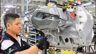 BMW Motorcycle Engine Assembly