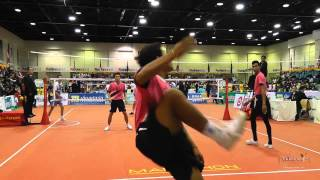 Kings Cup 2014 Sepak Takraw Laos vs. Iran - 2nd Regu team event