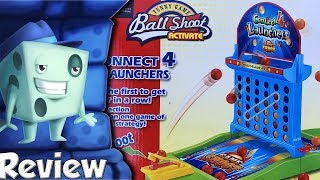 Connect 4 Launchers Review -  with Tom Vasel