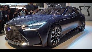 lexus lf fc concept previews next ls 2015 tokyo motor show is the next gen lexus ls