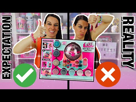 expectations-vs-reality-of-lol-surprise-diy-glitter-factory-#fail