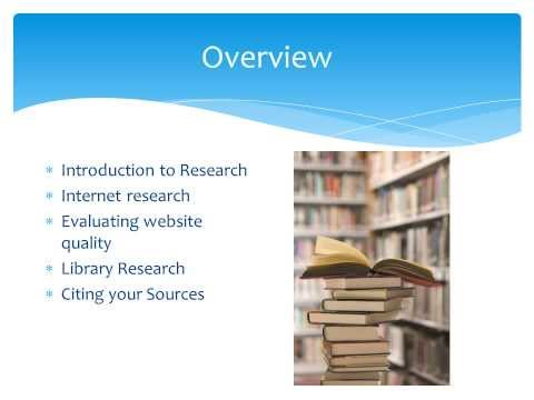 Evaluating Research Sources  PJDM3745