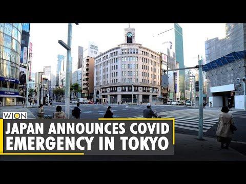 Japan announces COVID emergency in Tokyo
