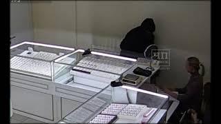 Переговоры полиции об ограблении ювелирного магазина в Канске