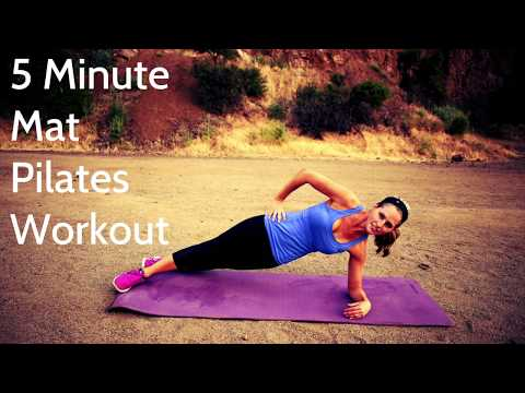 5 Minute Mat Pilates Workout For Core Strengthening and Toning