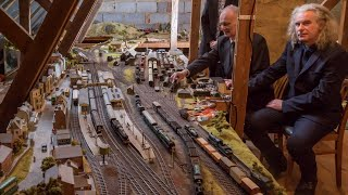 Sons Honor Late Father's Love of Model Trains by Putting His Ashes in One thumbnail