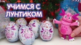 Download Учимся с Лунтиком - Дед Мороз дарит подарки. Новогоднее видео для детей. Mp3 and Videos