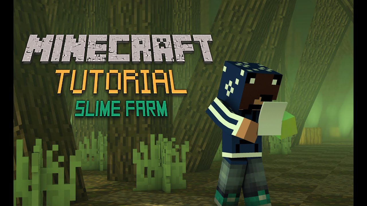 how to make a slime farm in minecraft skyblock