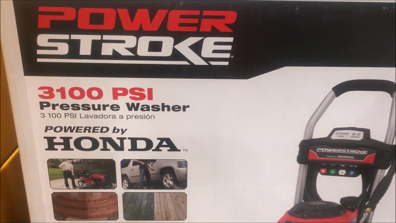 anchorage alaska costco powerstroke honda gas power washer 26999
