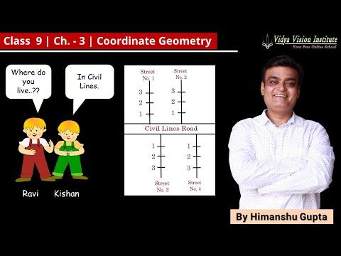 Coordinate Geometry    Part 1 - Concepts of Coordinates    NCERT - Class 9 - Mathematics    Hindi