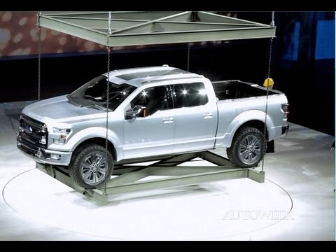 Ford Atlas concept pickup truck at the 2013 Detroit auto show - Autoweek TV
