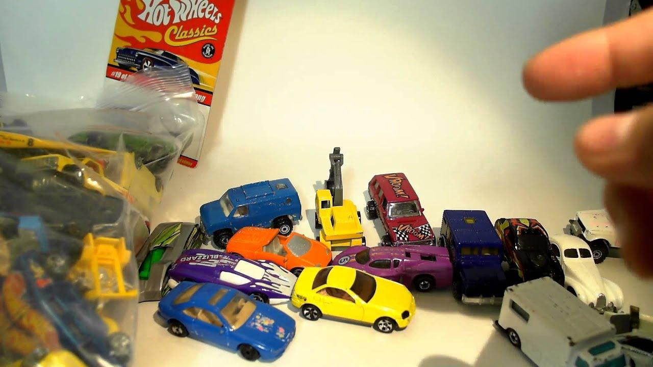 VINTAGE HAUL - ebay bulk buy of older (semi-vintage) HOT WHEELS cars ...