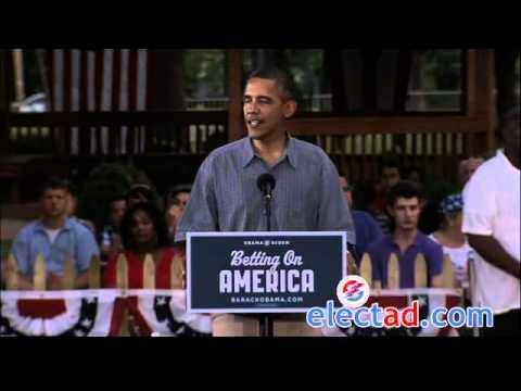 Barack Obama Campaign Event in Parma, Ohio - July 5 2012