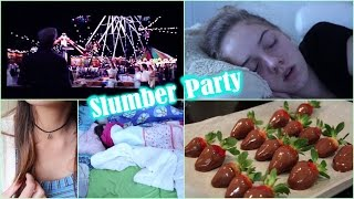How to Throw a Slumber Party!