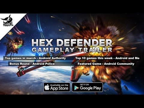 Hex Defender - Alpha Gameplay Trailer