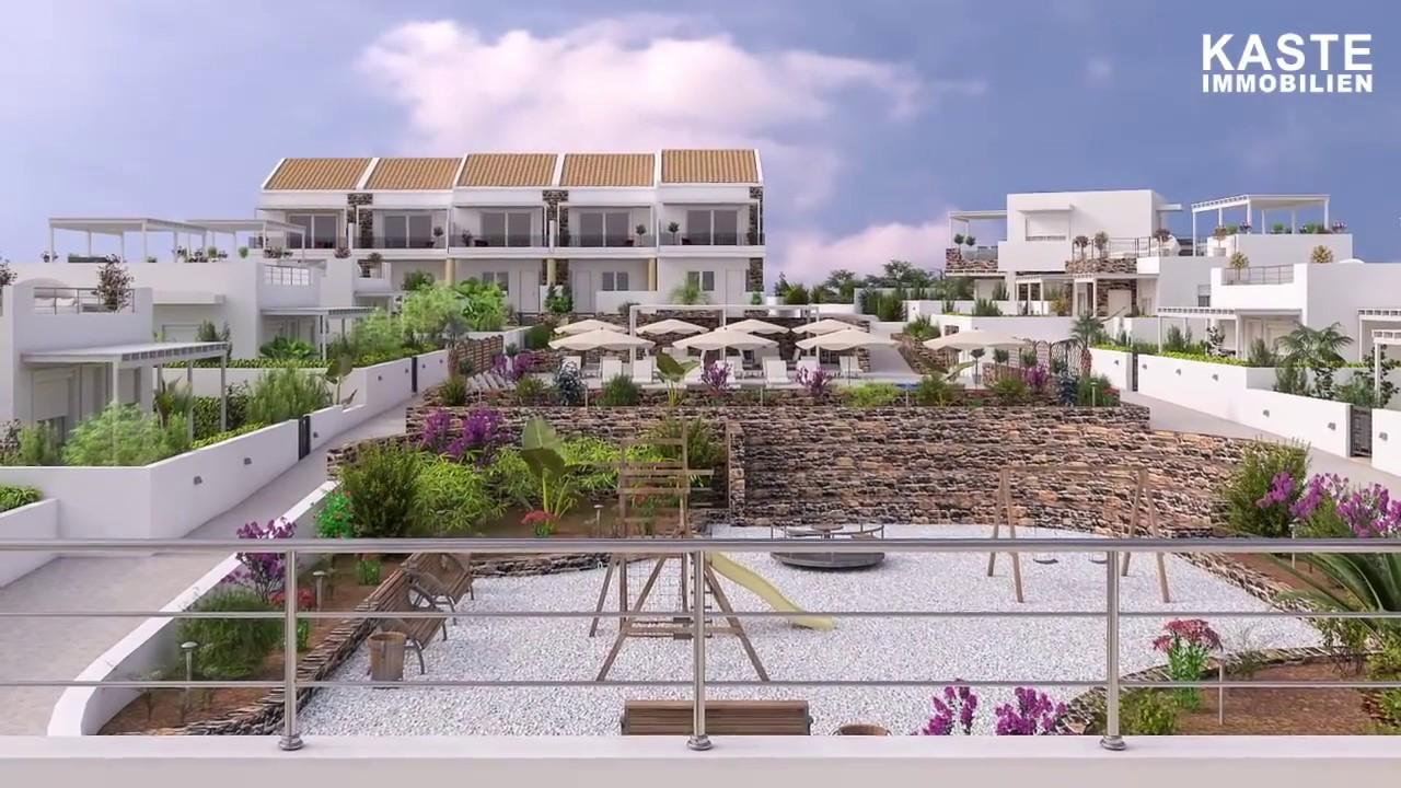 modernes Neubau - Projekt im Süd Osten von Kreta - YouTube