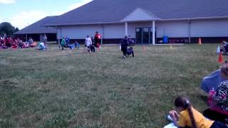 Jake And Collin Wheelbarrow Race