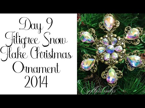 Day 9 of 10 Days of Christmas Ornaments with Cynthialoowho 2014!