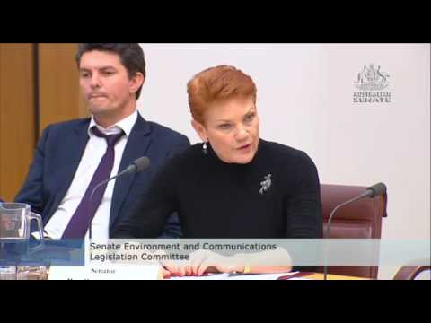 Pauline Hanson accuses ABC of targeting One Nation in programs; 4 Corners & 730 Report