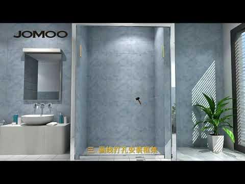Phòng tắm kính - Lắp đặt vách kính nhà tắm( mô phỏng 3D siêu đep và hấp dẫn).