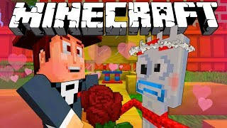MINECRAFT TOY STORY | WOODY AND FORKY GET MARRIED | MINECRAFT XBOX