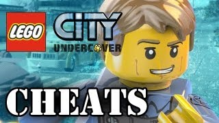 LEGO City Undercover - CHEATS (WII U Exclusive ) (HD Gameplay)