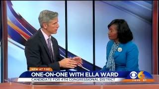 WATCH: Ella Ward, candidate for 4th Congressional District, on CBS 6 News at 7 p.m.