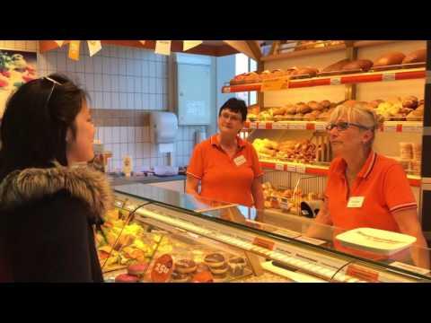 Einkaufen in der Bäckerei