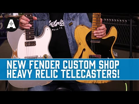 Pure Old-School Teles That Any Guitarist Will Love! - New Fender Custom Shop Heavy Relic Telecasters