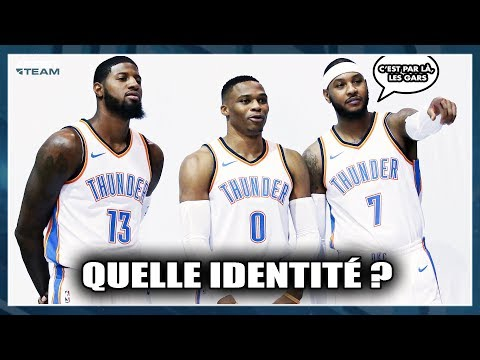 OKC THUNDER : QUELLE IDENTITÉ  ? First Talk NBA #32