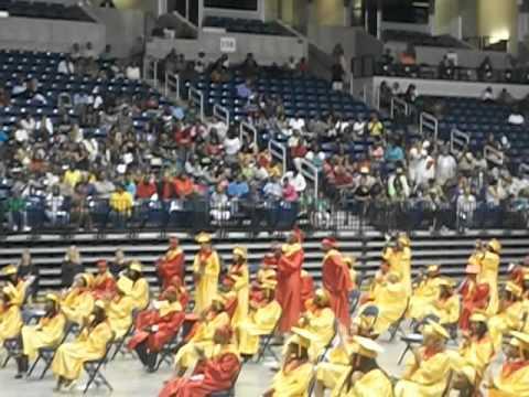 Shroder Paideia High School. graduation at cintas center 2012