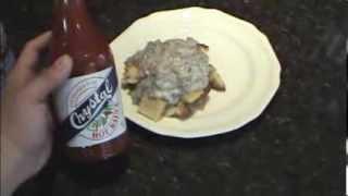 Vloguary 8: How To Make S.o.s Aka Shit On The Shingles Aka Creamed Meat On Toast ;)