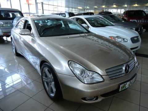 vehicle used cls gauteng in details benz blueefficiency sale showroom mercedes for