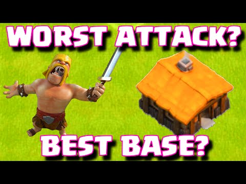 Clash of Clans WORST ATTACK EVER OR BEST BASE EVER? | TOWN HALL 11 DEFENSE WINS