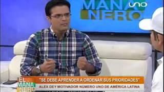 """Álex Dey da las claves del éxito en """"El Mañanero"""""""