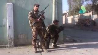 قطعات العمليات الخاصة التطهير حي الصمود و دور السكر في ايمن الموصل