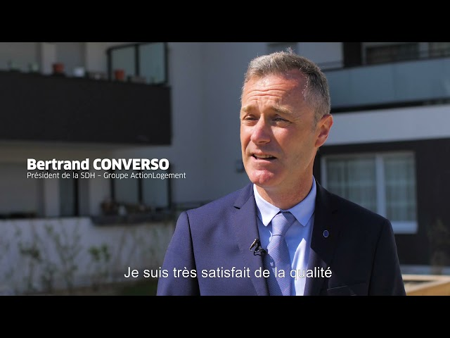 ALILA – Inauguration de D'CLIC à Pont-de-Claix– Bertrand CONVERSO – Président de la SDH  1/2