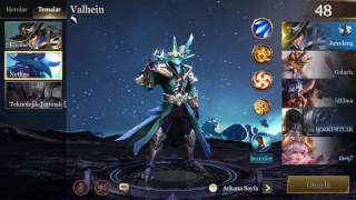 STRIKE OF KINGS : VALHEIN BUILD / NETHRA SKIN : Bölüm 4 :
